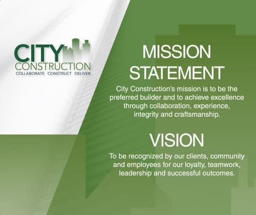 City Construction Mission And Vision