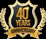 40 Year Annivesarybadge1
