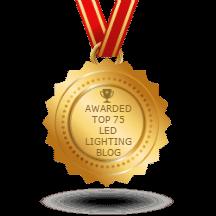 Feedspot top LED lighting blogs logo