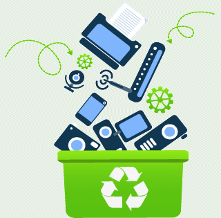 recycling graphic logo