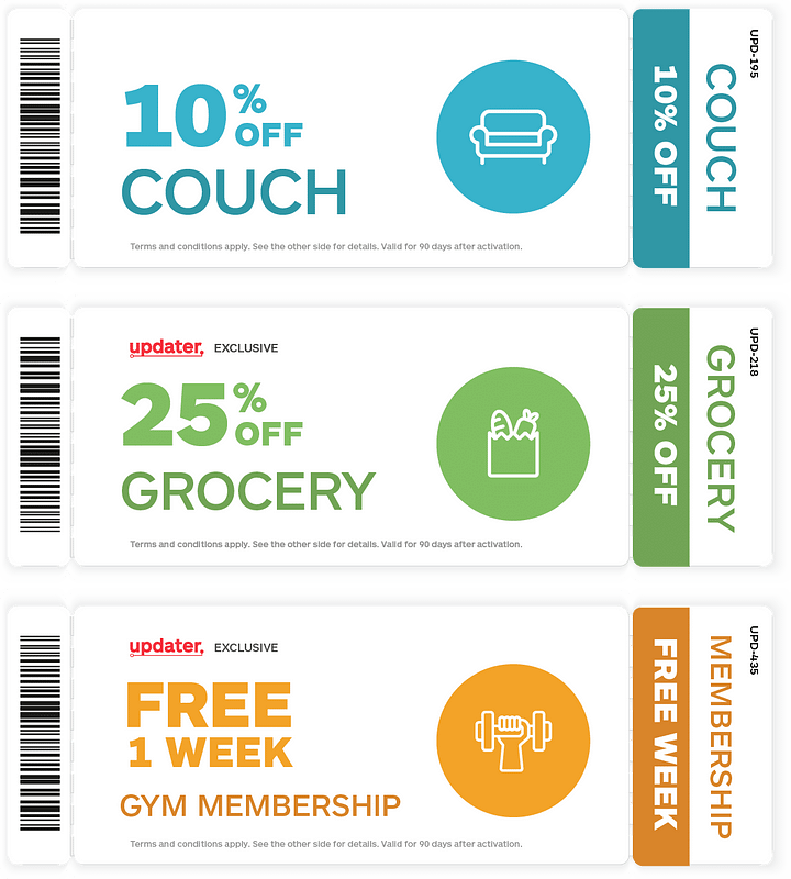 updater application coupons