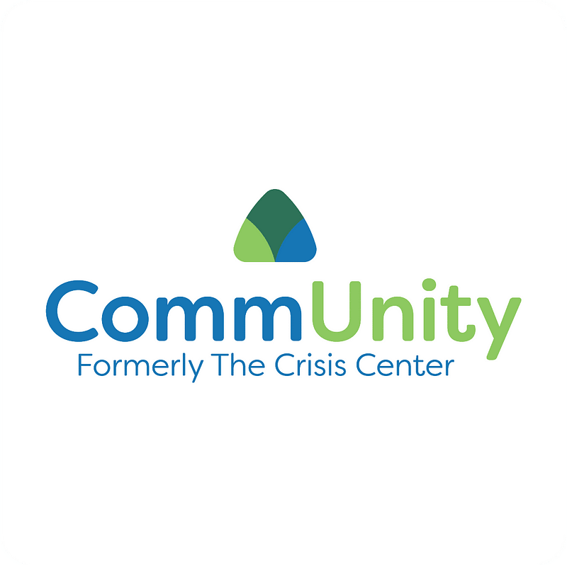 CommUnity Formerly the crisis center logo