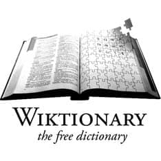 Wiktionary.Org Logo
