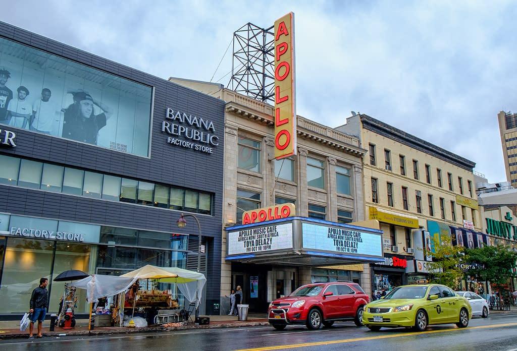 The Apollo Theatre In Harlem