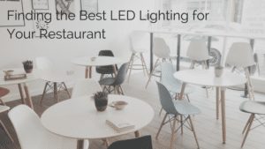 LED Restaurant Lighting