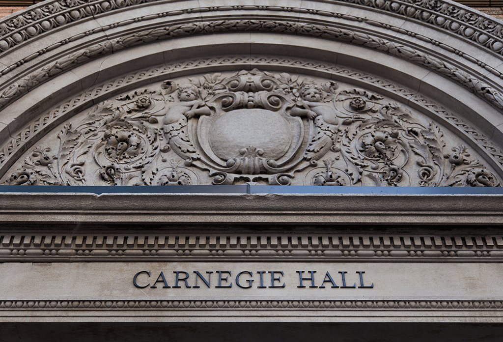Carnegie Hall Front