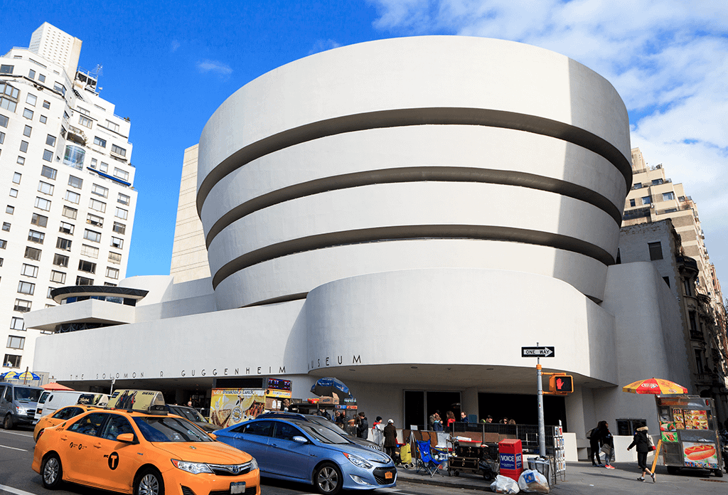 Midday At The Guggenheim On The Upper East Side