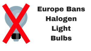 ban on halogen bulbs