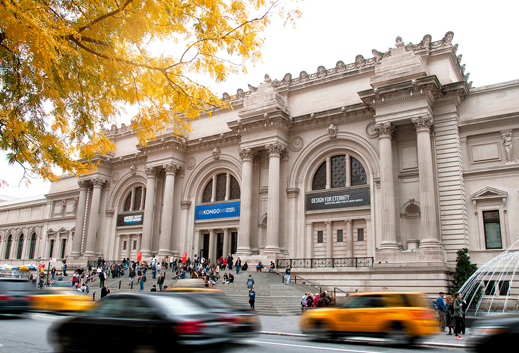 Fall At The Metropolitan Museum Of Art On The Upper East Side