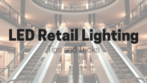 led retail lighting blog image