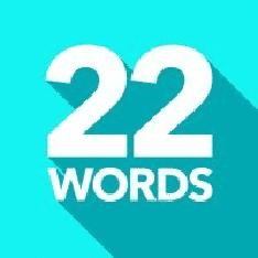 Twentytwowords.Com Logo