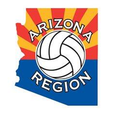 Azregionvolleyball.Org Logo