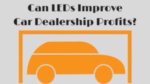 car dealership lighting