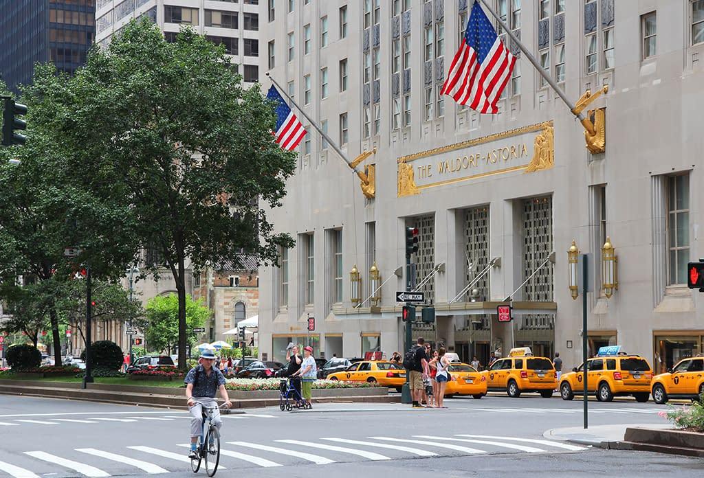 The Waldorf Astoria On Park Avenue Midtown East