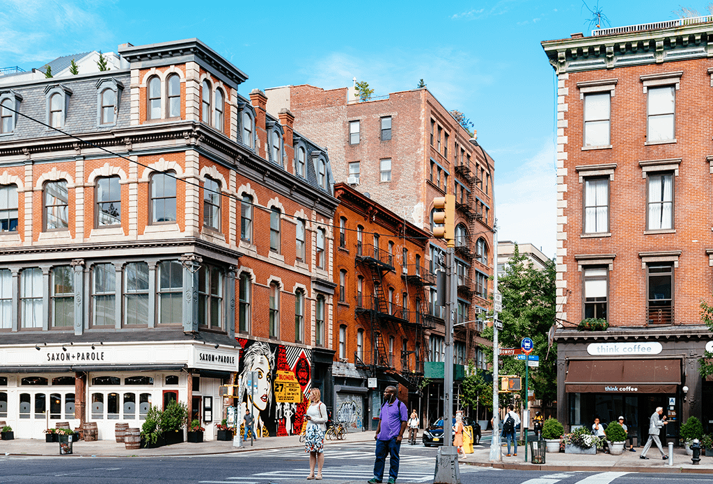 Early Morning On Bowery In Noho