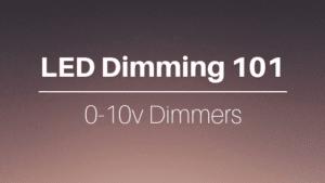 LED 0-10v dimmers