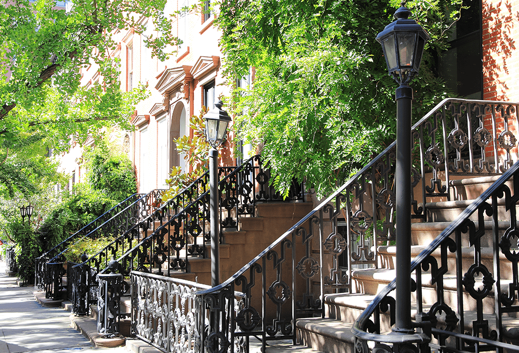 Townhouses On The Upper West Side