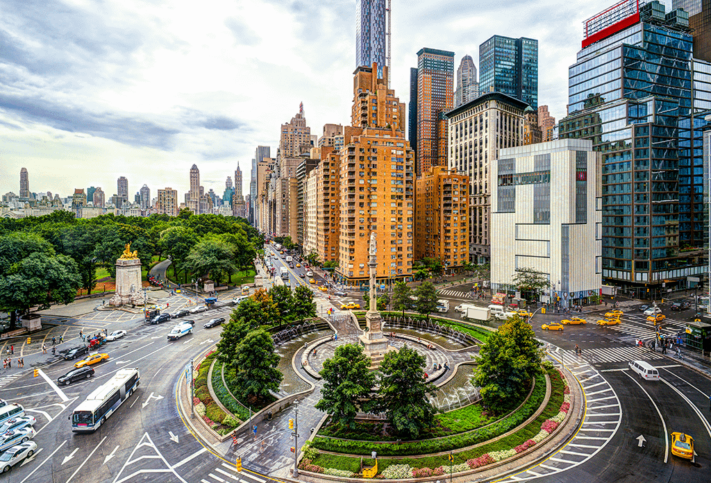 Columbus Circle Daytime