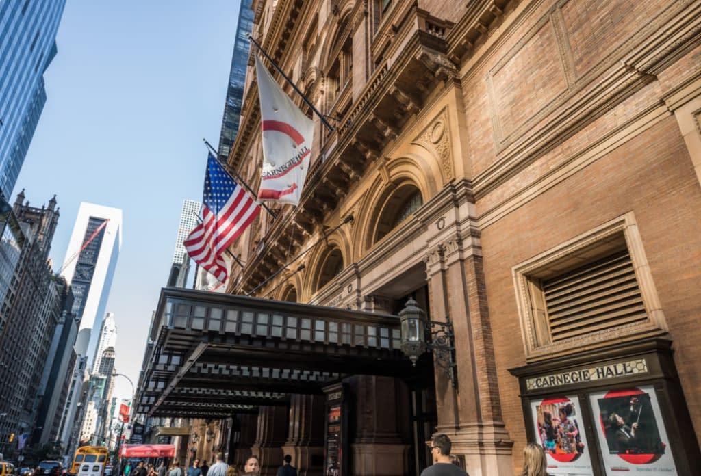 Carnegie Hall In Midtown