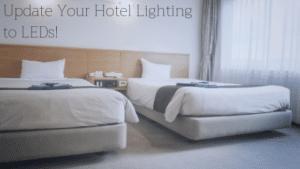 LED hotel lighting