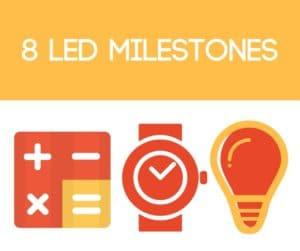 LED Milestones