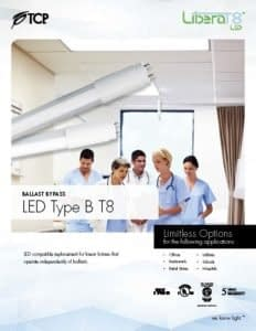 LED T8 Type B BYPASS Spec Sheet REVISED WEB Page 1