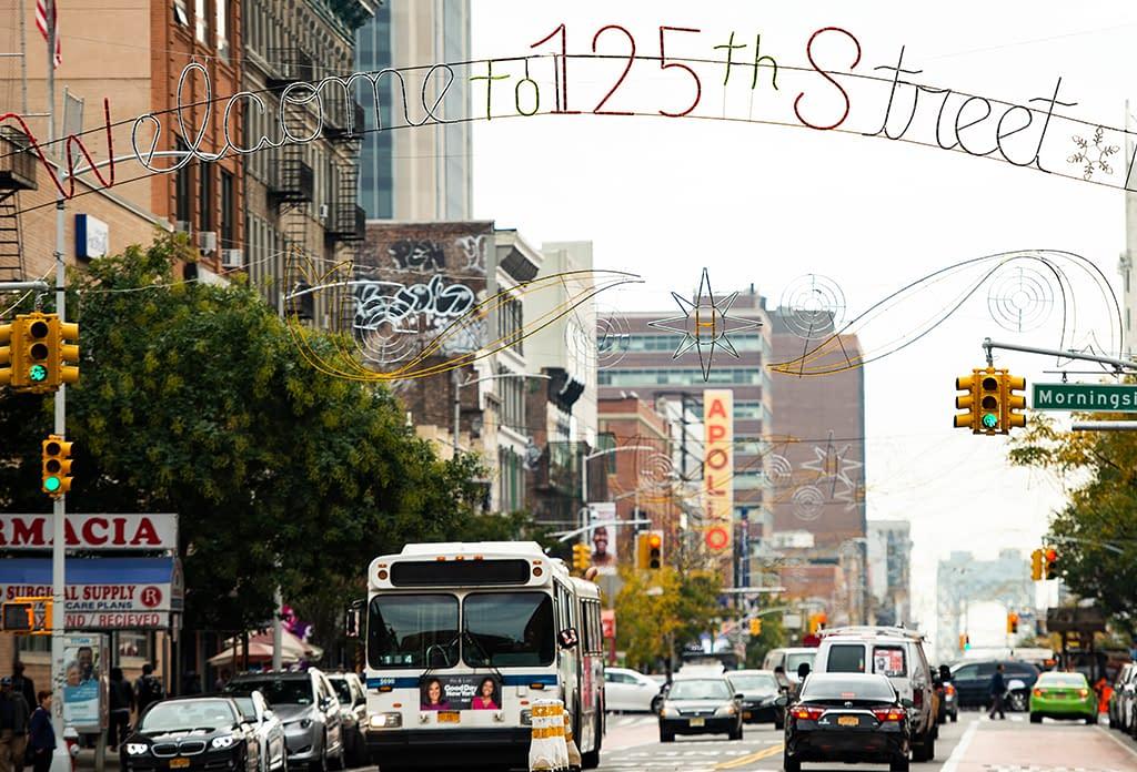 125 Street In Harlem