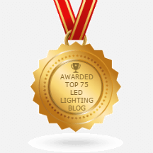 Feedspot top LED lighting blogs logo