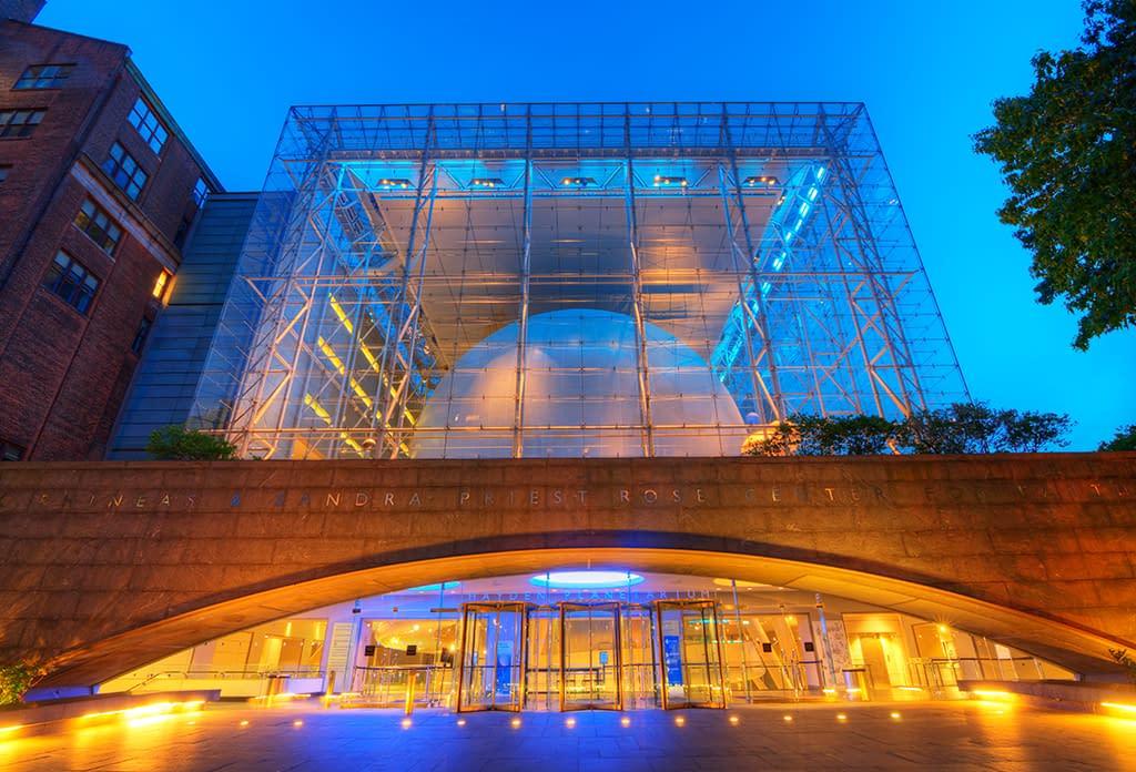 Sunrise At The Hayden Planetarium On The Upper West Side
