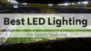 LED lighting for sports arenas