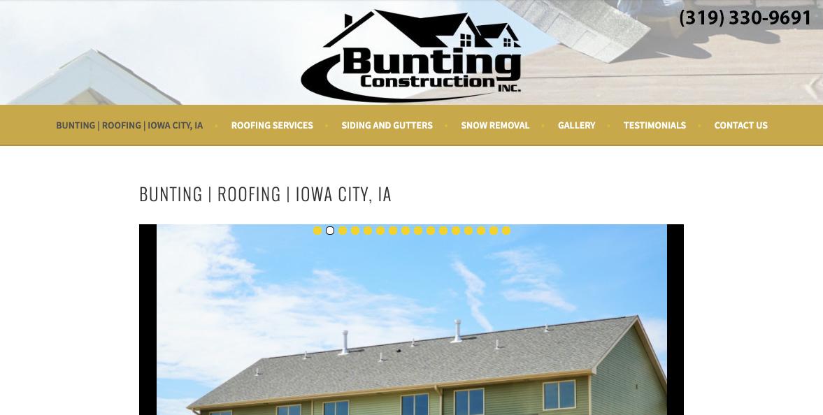 Bunting Construction 14
