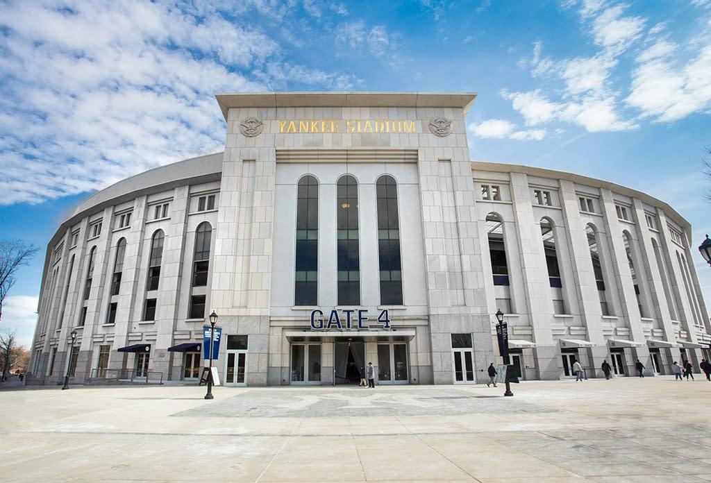 Yankee Stadium In The Bronx