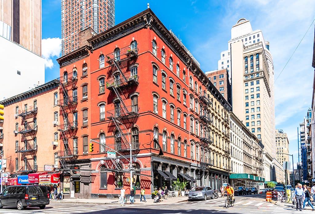 Street Scene In Tribeca