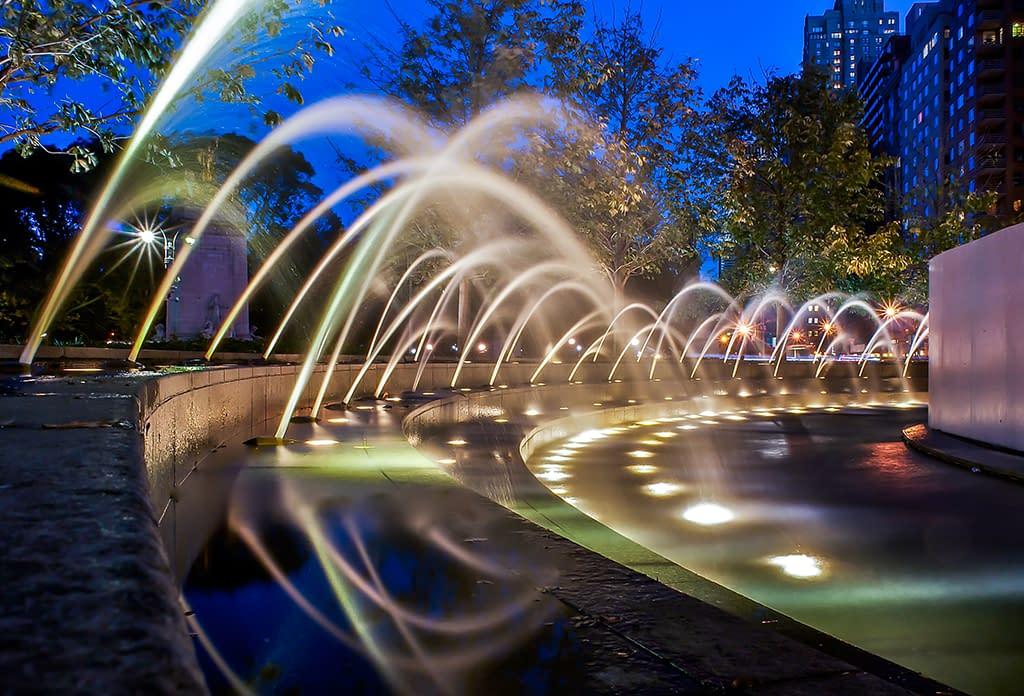 The Fountains At Columbus Circle