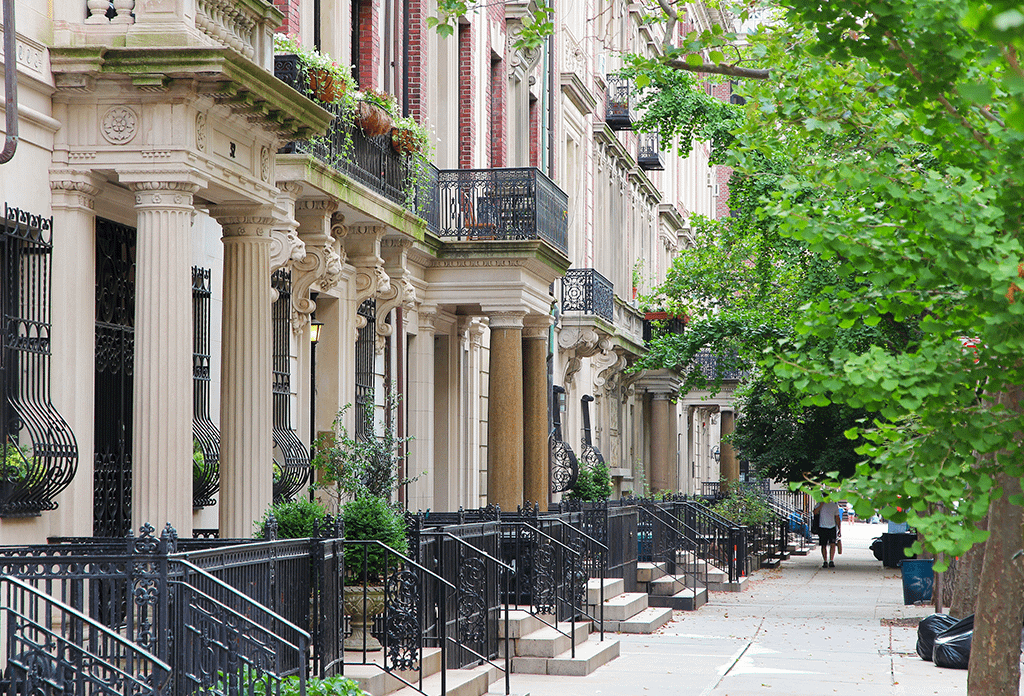 Townhouses On The Upper East Side