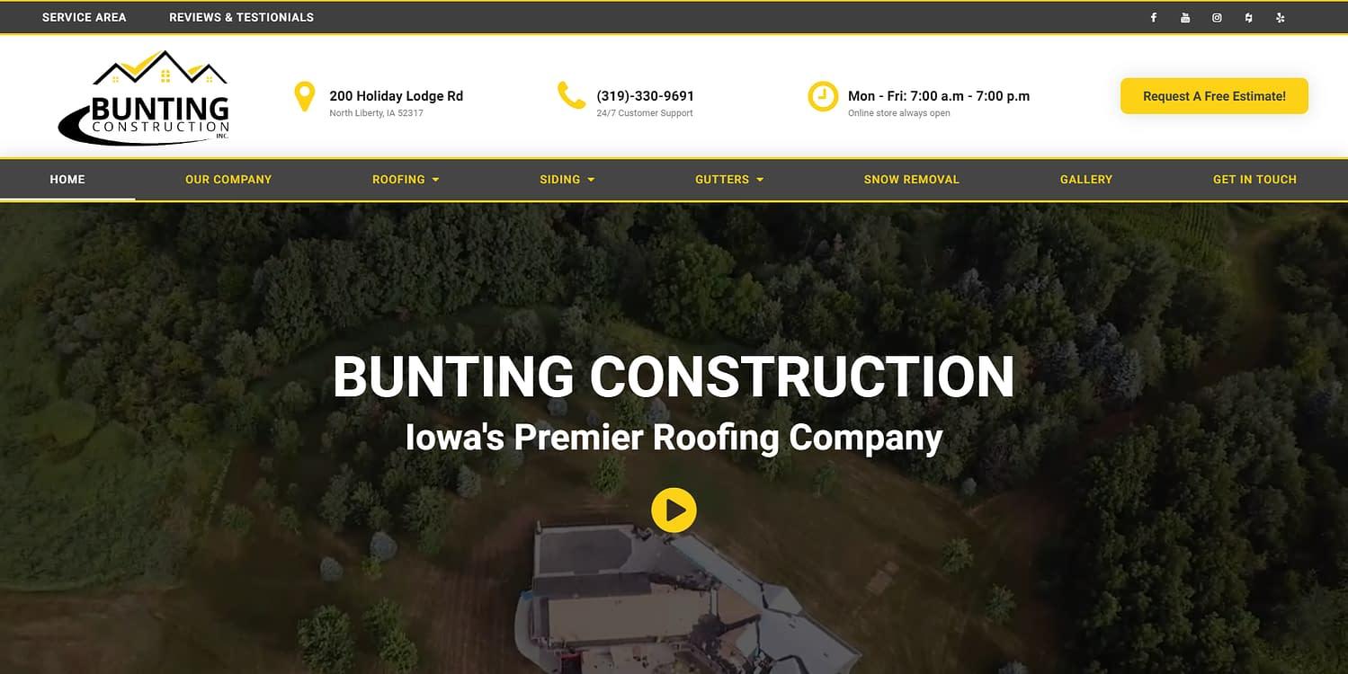 Bunting Construction 15